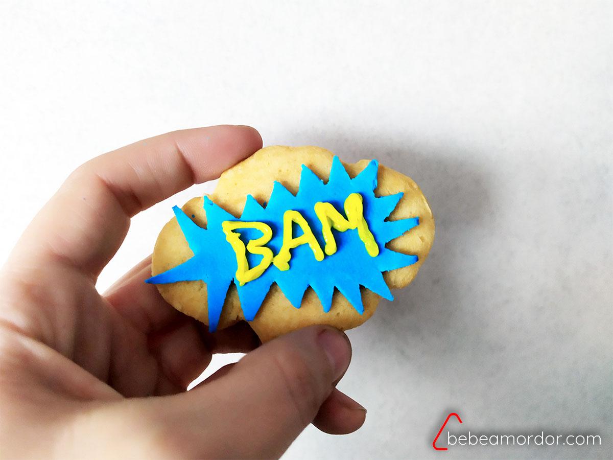 Receta galletas comics bam