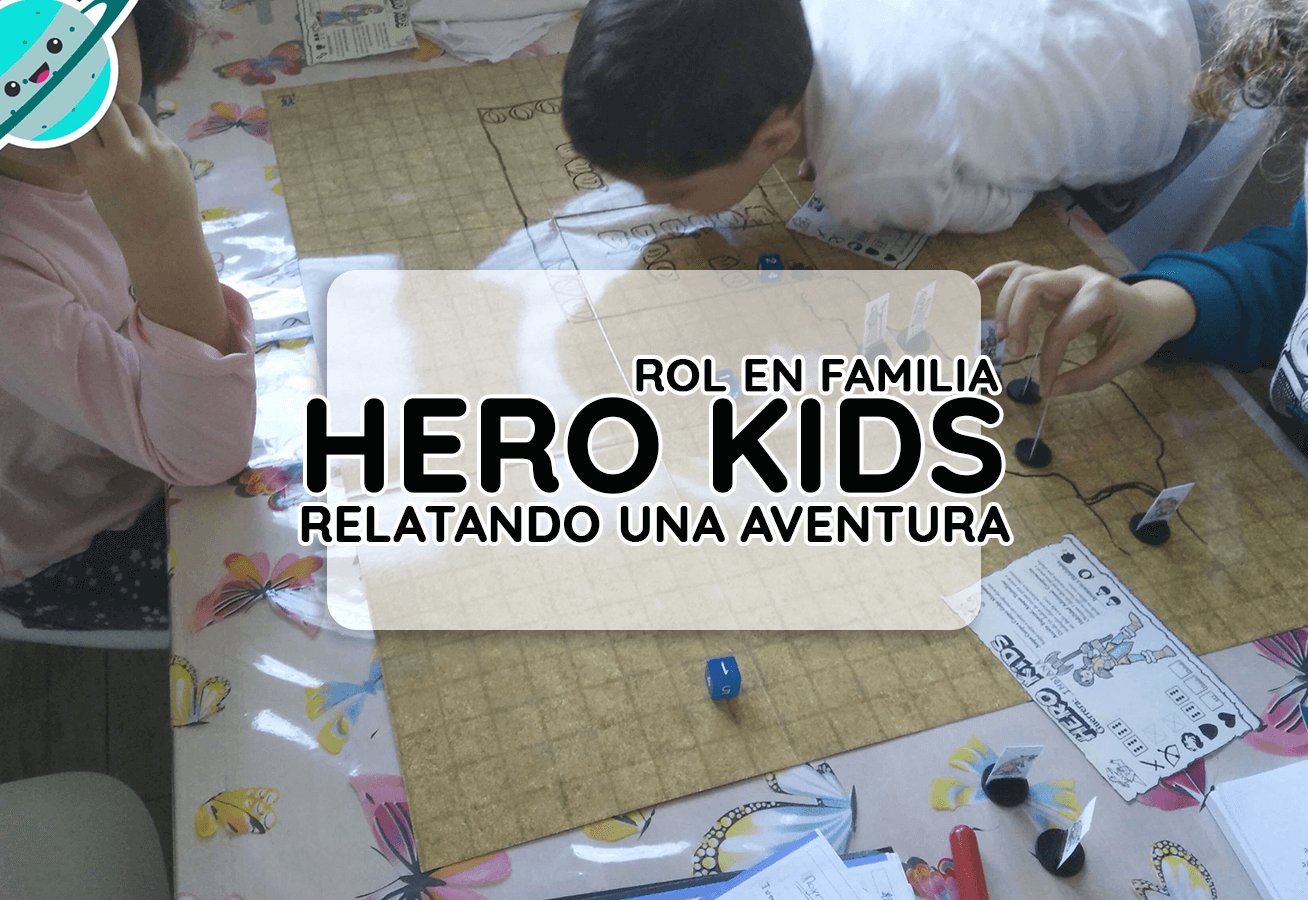 rol con niños hero kids