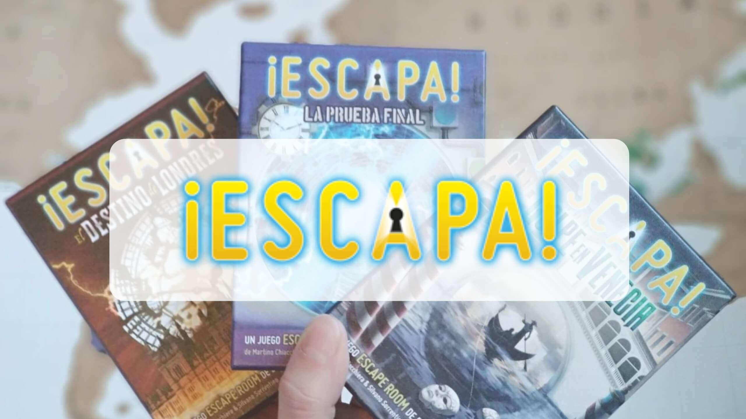 juegos de mesa de Escape Room ¡Escapa! de Mercurio