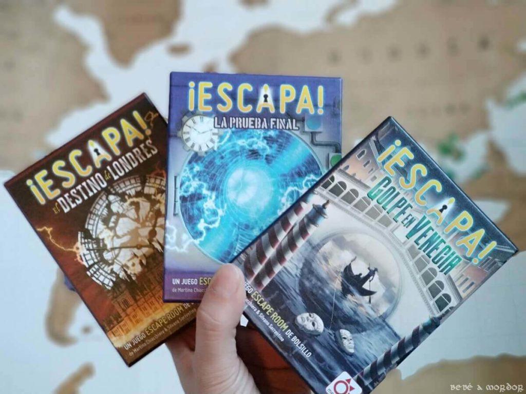 juegos de mesa de Escape Room