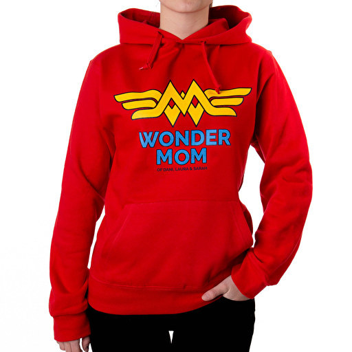sudaderas-personalizadas Wonder Mom