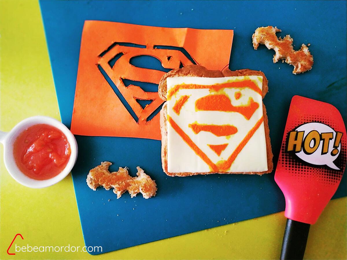merienda superhéroes