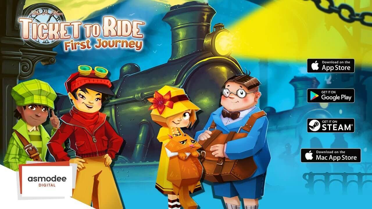 Aventureros al tren - el primer viaje gratis steam