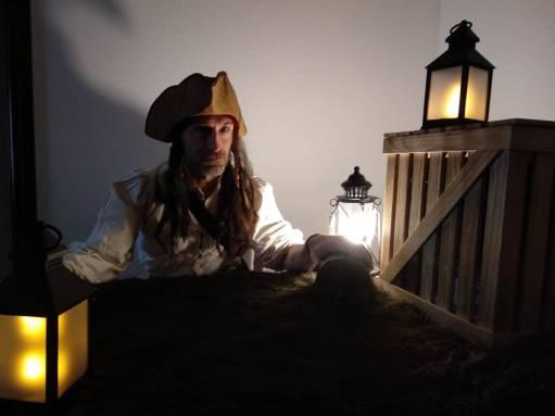 yincana pirata por la casa con disfraz
