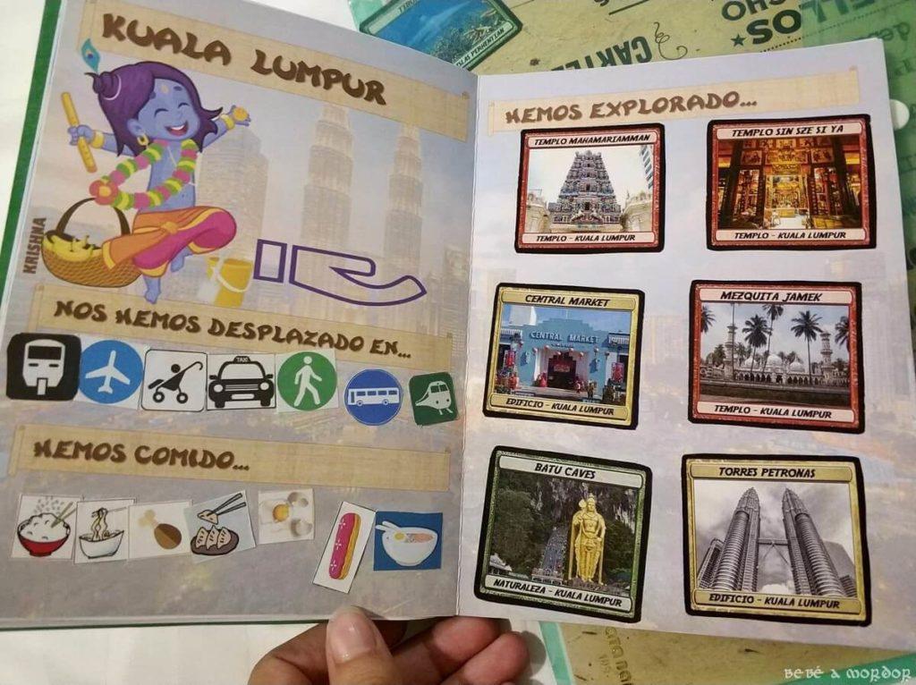 pasaporte lúdico de Malasia Kuala Lumpur por países