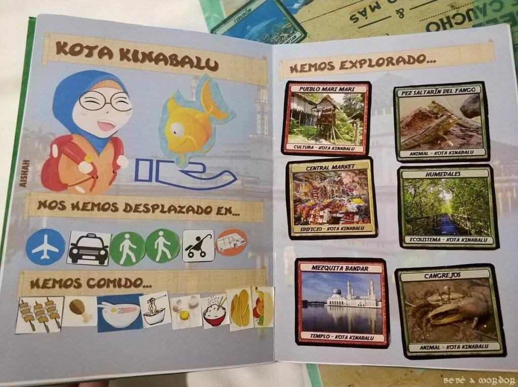 pasaporte lúdico de Malasia con niños