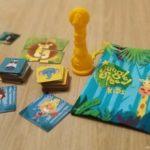 componentes versión juego de mesa Jungle Speed Kids