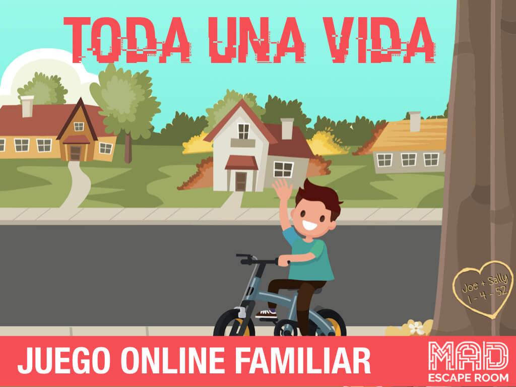 escape room online familiar con niños
