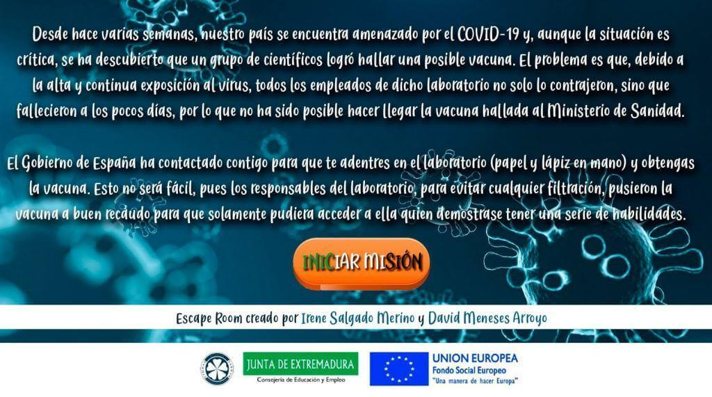 covid19 escape room gratis