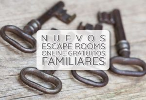 nuevos escape rooms online gratuitos familiares