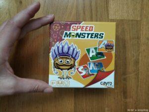 tamaño caja juego Speed Monsters