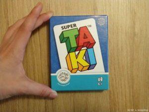 tamaño caja juego de cartas Super TAKI Mercurio