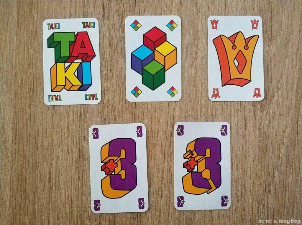 tipos de cartas súper especiales Taki