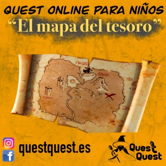 escape room quest el mapa del tesoro