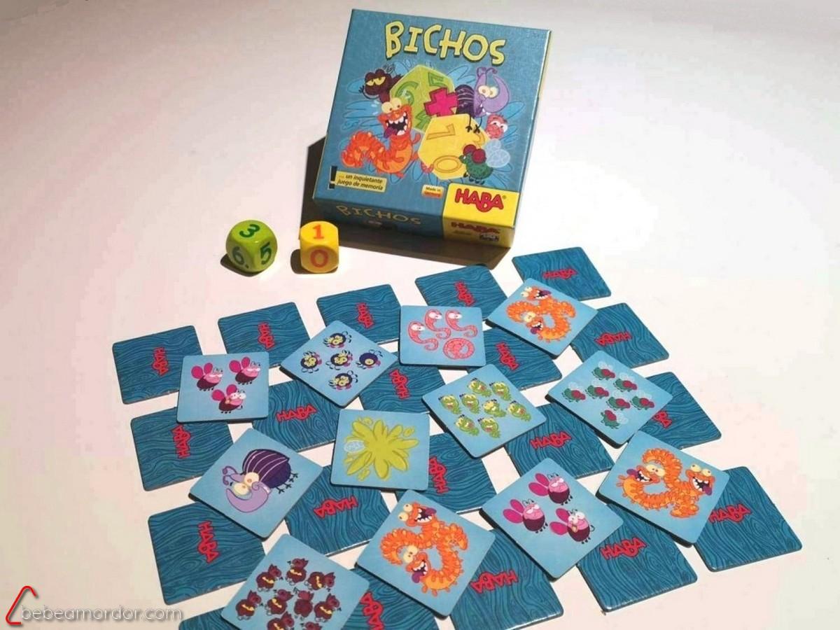 juego de mesa para mates bichos HAba