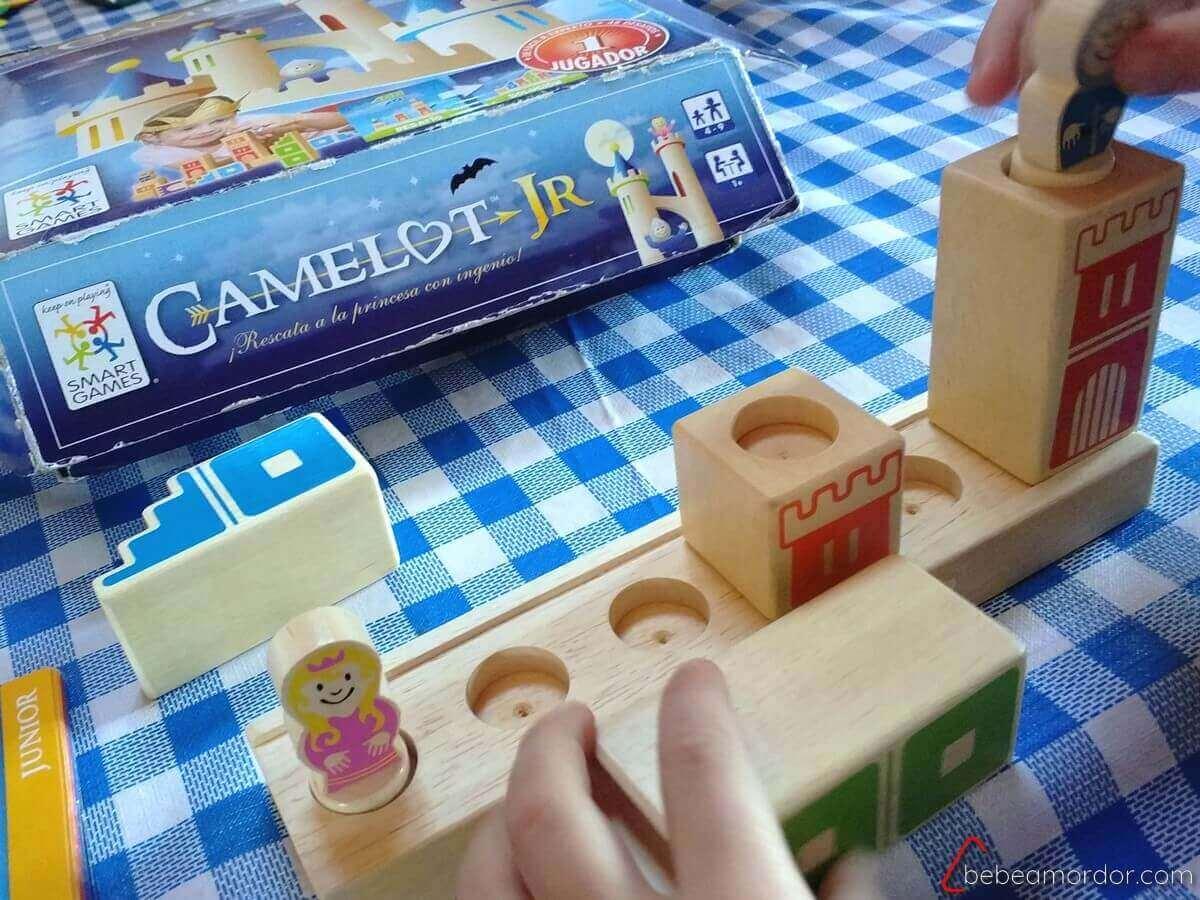 juegos de mesa solitarios para niños Camelot Jr SmartGames