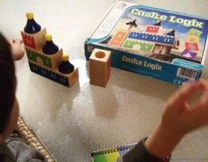 Castle Logix juego solitario de lógica para niños de 4 o 5 años
