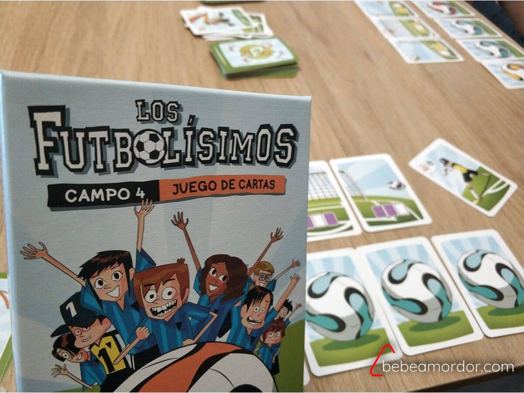 partida juego de mesa Los Futbolísimos.