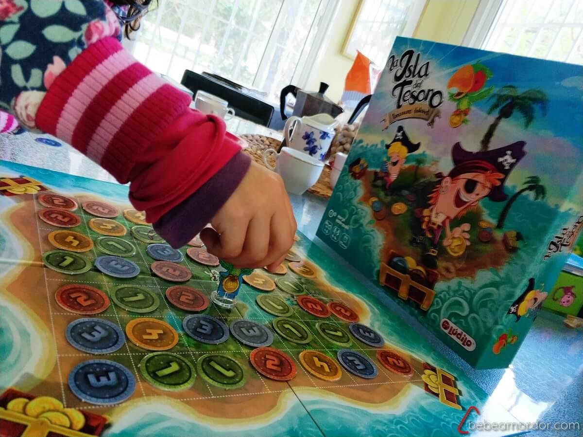 juego de tesoros y piratas de matemáticas