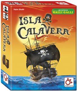caja juego de mesa Isla Calavera dados multiplicaciones