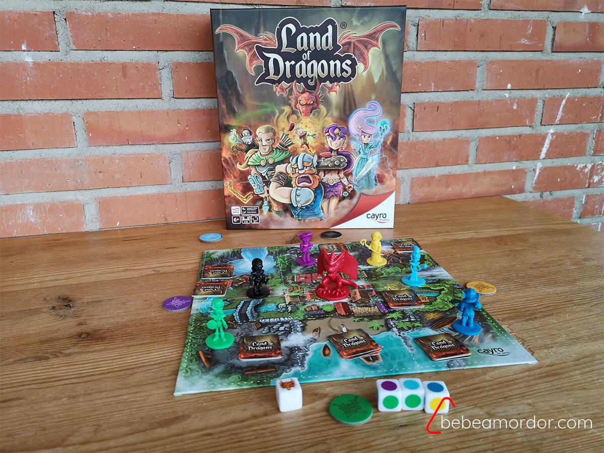juego de mesa land of dragons