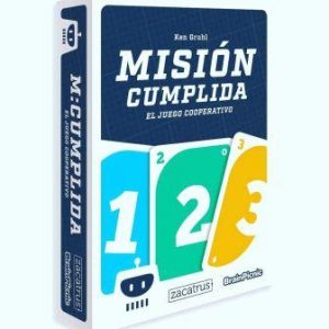 Misión Cumplida juego de mesa matemáticas