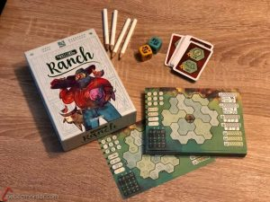 Rolling Ranch juego de mesa para matemáticas