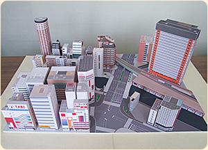 manualidades de papel Akihabara
