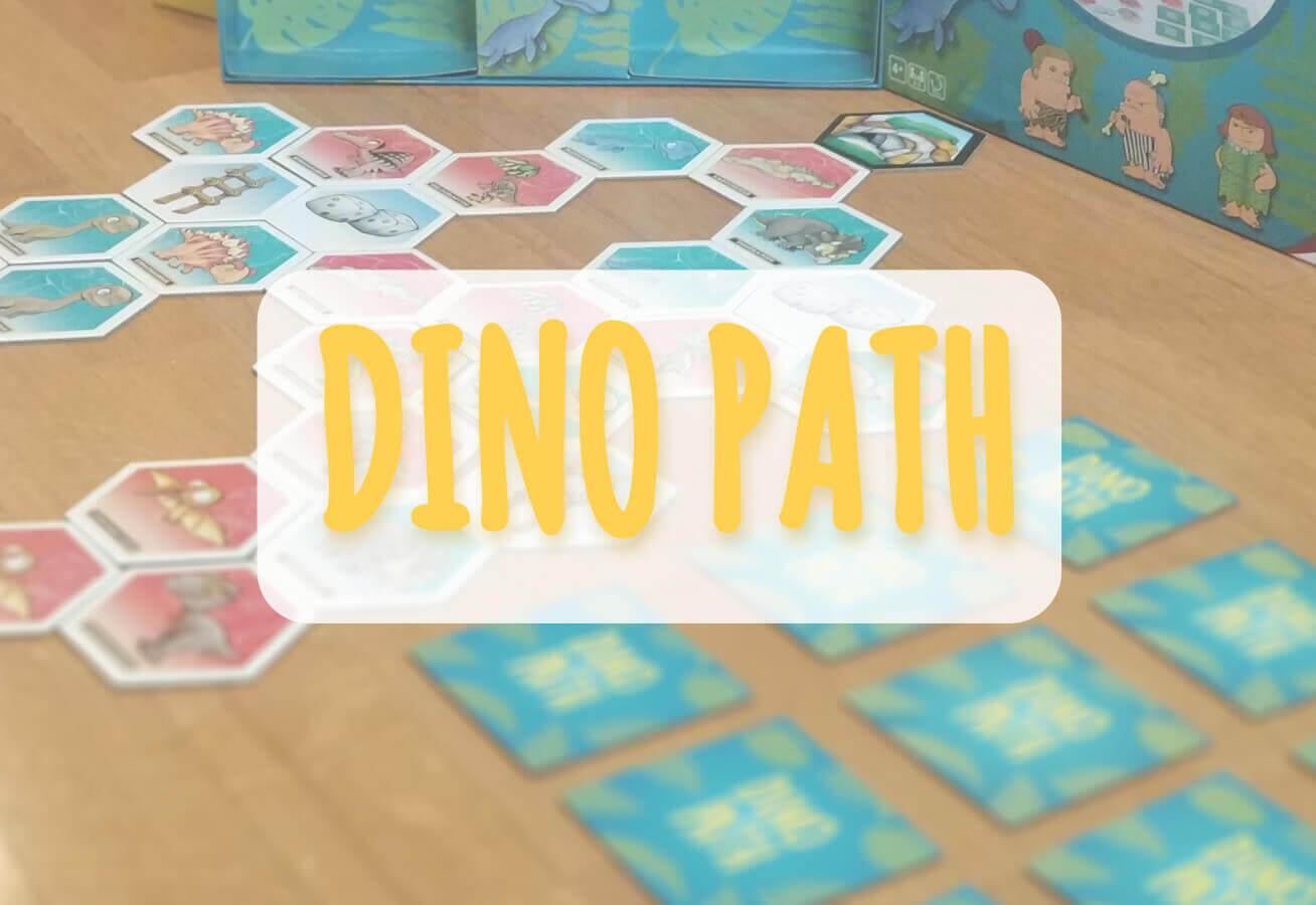 portada reseña como se juega Dino Path Cayro