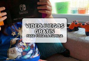 portada videojuegos gratis para niños/as y adolescentes