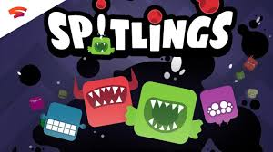 Spitlings videojuego Stadia Google