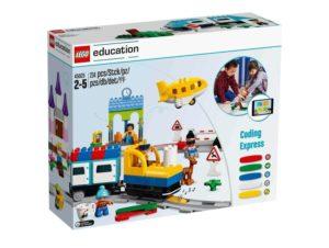 caja de LEGO Coding Express que son robots para niños desde 2 años