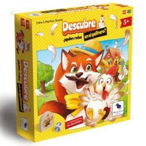 imagen promocional de la caja del juego de mesa