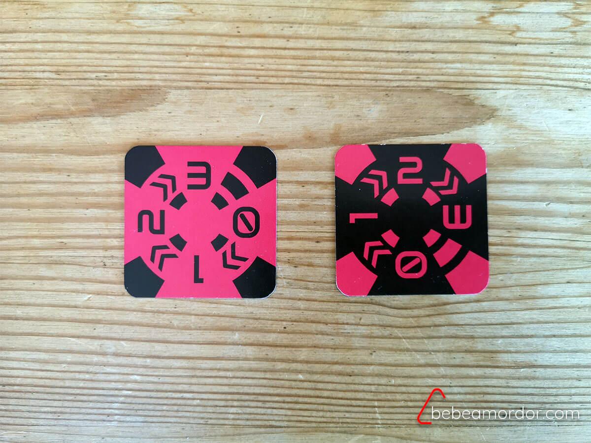 Cartas energía end of line juego de mesa