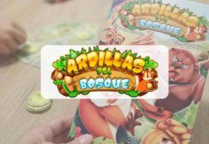 portada reseña juego de mesa Ardillas del Bosque de Átomo Games y Paco Gómez