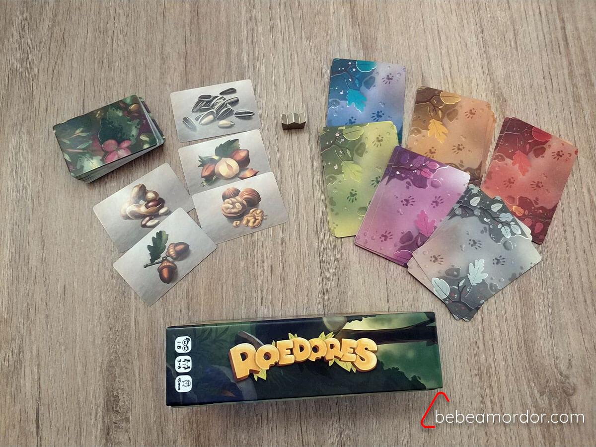 Caja juego de mesa Roedores.