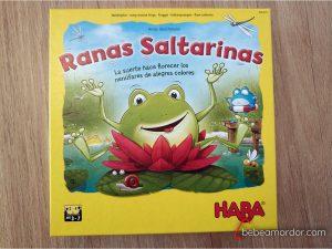 Portada Ranas Saltarinas de Haba.