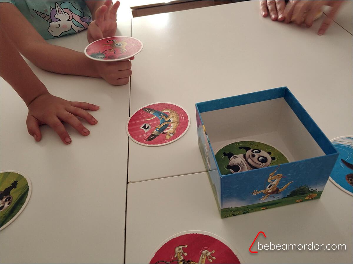 partida reseña al juego de mesa Poc!
