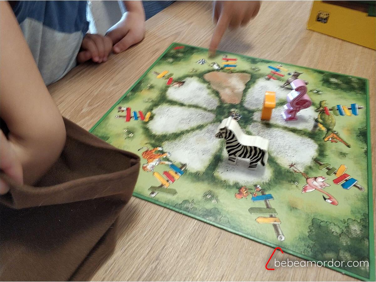 Mi Primer Zoo Haba juego de mesa desde 3 años.