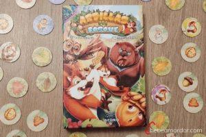 Caja juego de mesa Ardillas del Bosque
