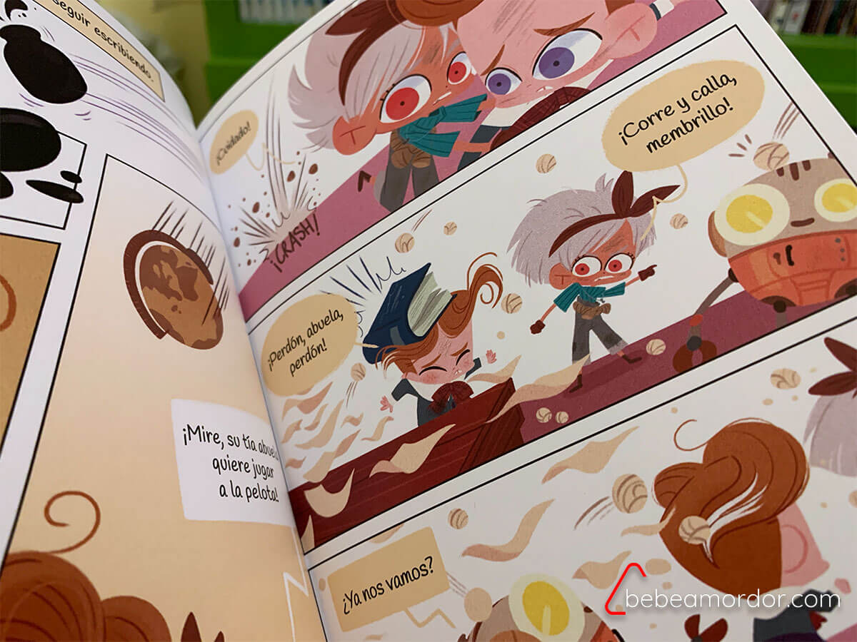 Los cazapesadillas ilustraciones