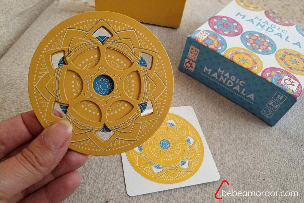 juego de mesa solitario Magic Mandala