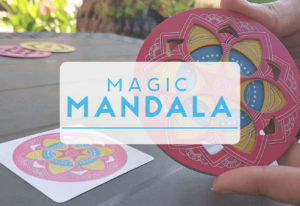 portada reseña cómo se juega al juego de mesa MAgic Mandala de Mercurio