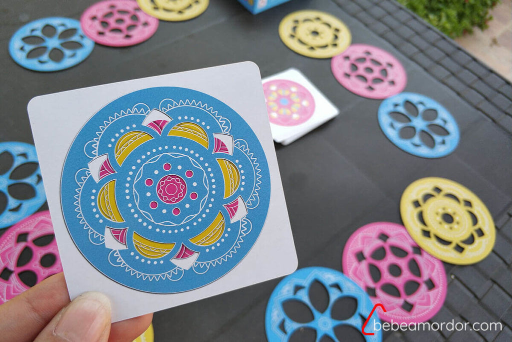 carta de reto de Magic Mandala