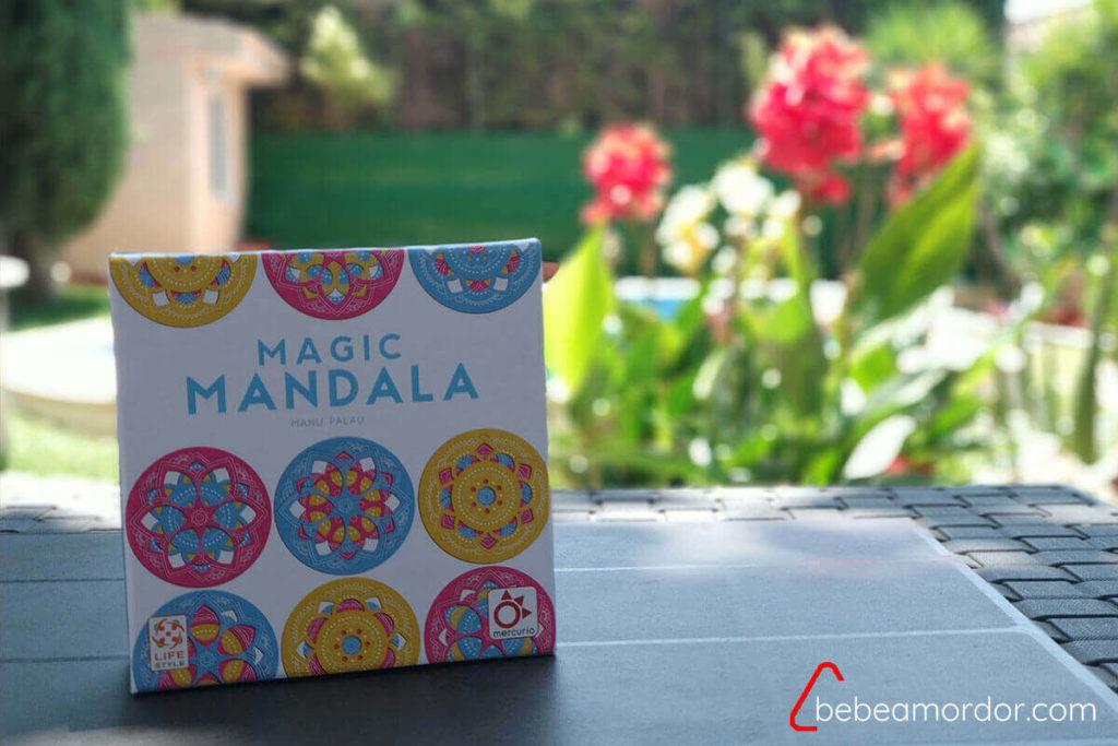 caja juego de mesa Magic Mandala