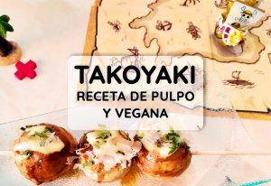 receta takoyaki pulpo vegano