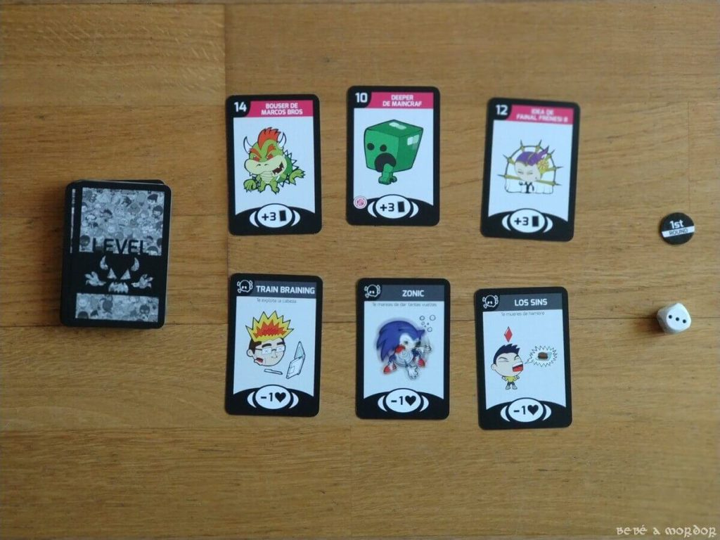 Tipos de cartas de Level