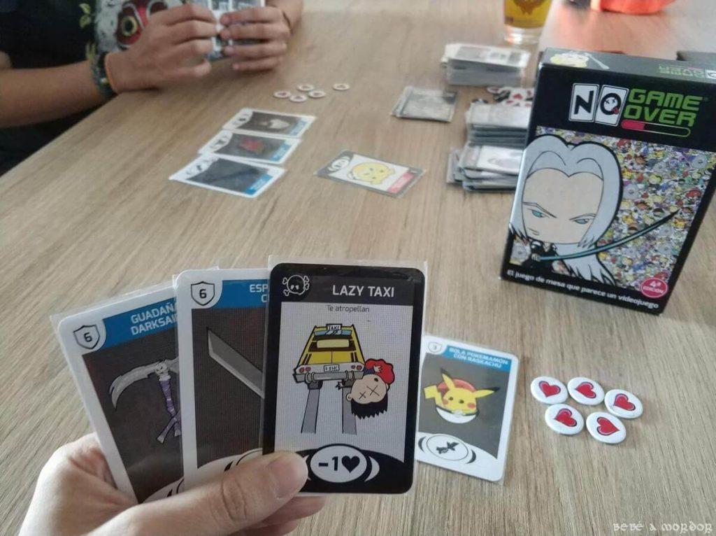 jugando una partida a NGO