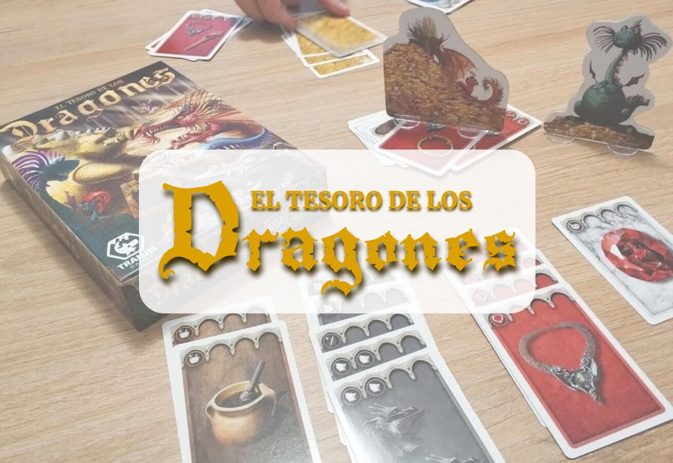 portada reseña cómo se juega El Tesoro de los Dragones Tranjis