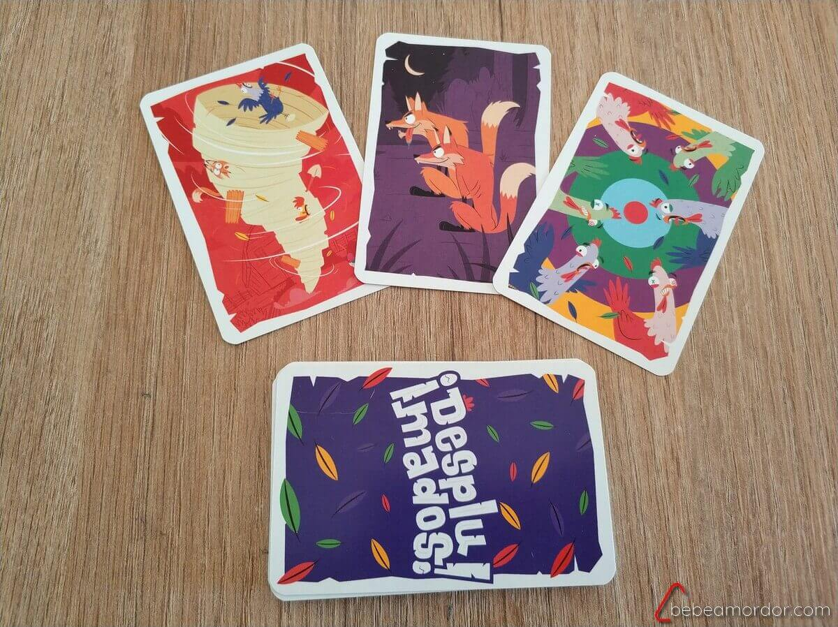 Más cartas especiales juego de mesa Desplumados Venatus